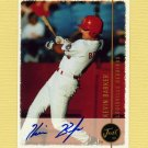 1999 Just Baseball Autographs #12 Kevin Barker - Louisville Redbirds Autograph