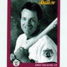 1991 Studio Baseball #230 Andy Van Slyke - Pittsburgh Pirates