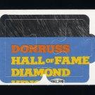 1992 Donruss Baseball Rod Carew Puzzle #1, #2 and #3