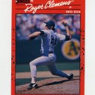 1990 Donruss Baseball #184 Roger Clemens - Boston Red Sox Ex