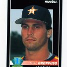 1992 Pinnacle Baseball #543 Mike Groppuso RC - Houston Astros