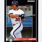 1992 Pinnacle Baseball #523 Chad Curtis RC - California Angels