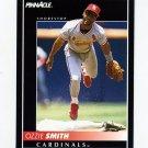 1992 Pinnacle Baseball #006 Ozzie Smith - St. Louis Cardinals NM-M