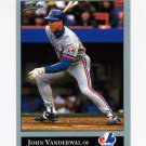 1992 Leaf Baseball #416 John Vander Wal RC - Montreal Expos