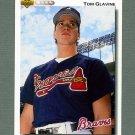 1992 Upper Deck Baseball #342 Tom Glavine - Atlanta Braves