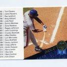 1993 Leaf Baseball #340 Checklist 295-368 Bobby Bonilla - New York Mets