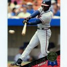 1993 Leaf Baseball #222 Deion Sanders - Atlanta Braves