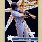 2001 Topps Stars Baseball #197 Chris Bass RC - Pittsburgh Pirates