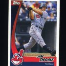 2002 Post Baseball #17 Jim Thome - Cleveland Indians