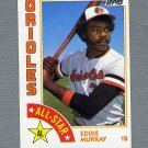 1984 Topps Baseball #397 Eddie Murray AS - Baltimore Orioles