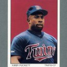 1990 Score Baseball #690 Kirby Puckett DT - Minnesota Twins