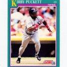 1991 Score Baseball #200 Kirby Puckett - Minnesota Twins