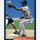 1994 Score Baseball #441 Harold Reynolds - Baltimore Orioles