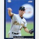 1994 Score Baseball #418 Tim Wakefield - Pittsburgh Pirates