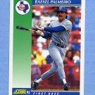1992 Score Baseball #055 Rafael Palmeiro - Texas Rangers
