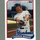 2010 Topps Baseball Vintage Legends Collection #VLC45 Thurman Munson - New York Yankees