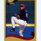 2002 Topps Gold Baseball #257 Nelson Cruz - Houston Astros Serial Numbered 0568/2002