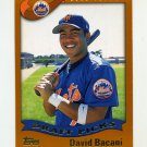 2002 Topps Baseball #694 David Bacani RC - New York Mets
