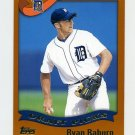 2002 Topps Baseball #692 Ryan Raburn RC - Detroit Tigers
