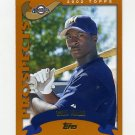 2002 Topps Baseball #676 Bill Hall PROS - Milwaukee Brewers