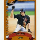 2002 Topps Baseball #674 Mike Hill PROS RC - Houston Astros