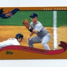 2002 Topps Baseball #525 Tino Martinez - St. Louis Cardinals