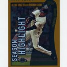2002 Topps Baseball #336 Barry Bonds HL - San Francisco Giants