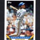 1993 Topps Baseball #001 Robin Yount - Milwaukee Brewers NM-M