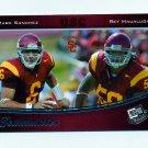 2009 Press Pass Football #092 Mark Sanchez / Rey Maualuga TM - USC Trojans