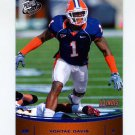 2009 Press Pass Football #046 Vontae Davis - University Of Illinois