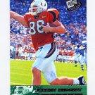 2002 Press Pass Gold Zone Football #G33 Jeremy Shockey - University Of Miami