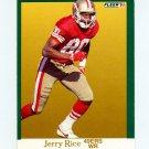 1991 Fleer Football #363 Jerry Rice - San Francisco 49ers