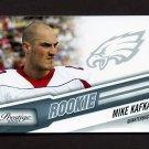 2010 Prestige Football #271 Mike Kafka RC - Philadelphia Eagles