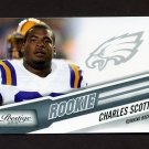 2010 Prestige Football #219 Charles Scott RC - Philadelphia Eagles