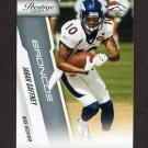 2010 Prestige Football #061 Jabar Gaffney - Denver Broncos