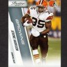 2010 Prestige Football #048 Jerome Harrison - Cleveland Browns
