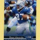 2002 Donruss Football #171 Shaun Alexander - Seattle Seahawks