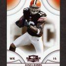 2008 Donruss Threads Retail Red #135 Josh Cribbs - Cleveland Browns