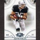 2008 Donruss Threads Football #089 Justin Fargas - Oakland Raiders