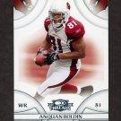 2008 Donruss Threads Football #001 Anquan Boldin - Arizona Cardinals