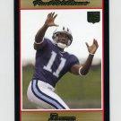 2007 Bowman Gold Football #158 Paul Williams RC - Tennessee Titans