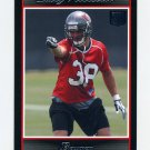 2007 Bowman Football #246 Sabby Piscitelli RC - Tampa Bay Buccaneers