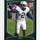 2009 Bowman Draft Football #164 Derrick Williams RC - Penn State