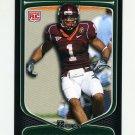2009 Bowman Draft Football #163 Victor Harris RC - Virginia Tech