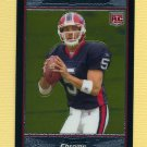 2007 Bowman Chrome Football #BC061 Trent Edwards RC - Buffalo Bills