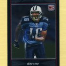 2007 Bowman Chrome Football #BC045 Joel Filani RC - Tennessee Titans
