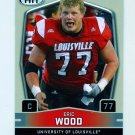 2009 SAGE HIT Football #037 Eric Wood RC - Louisville Cardinals