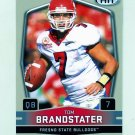 2009 SAGE HIT Football #017 Tom Brandstater RC - Fresno State Bulldogs