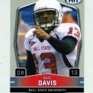 2009 SAGE HIT Football #013A Nate Davis RC - Ball State Cardinals