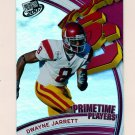 2007 Press Pass Football Primetime Players #10 Dwayne Jarrett - USC Trojans